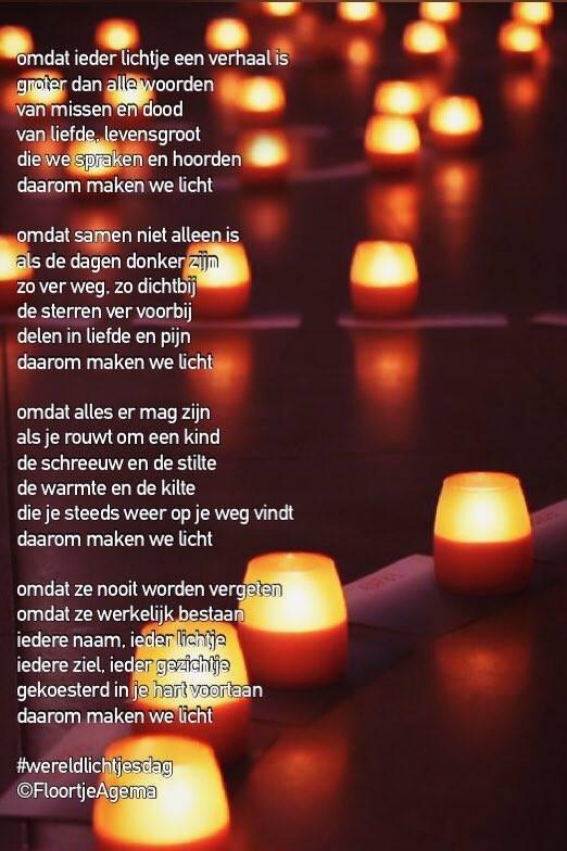 WereldLichtjesdag door Floortje Agema