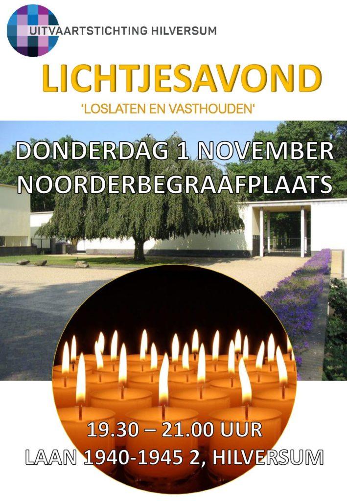 Lichtjesavond Noorderbegraafplaats Hilversum